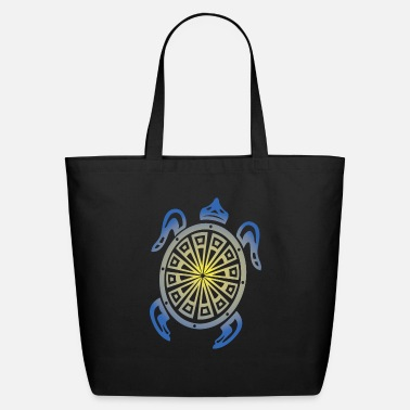 Tribal Sea Turtle - Eco-Friendly Tote Bag