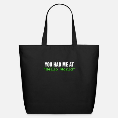 Program You had me at Programmer Computer Code Html Gift - Eco-Friendly Tote Bag