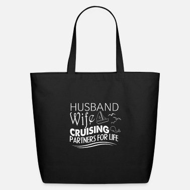 Partner Husband Wife Cruising Partners For Life T Shirt - Eco-Friendly Tote Bag