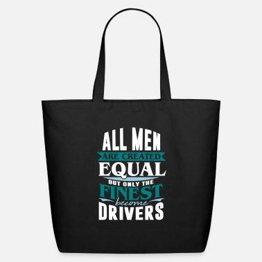 Road Transport driver taxi car road transport - Eco-Friendly Tote Bag