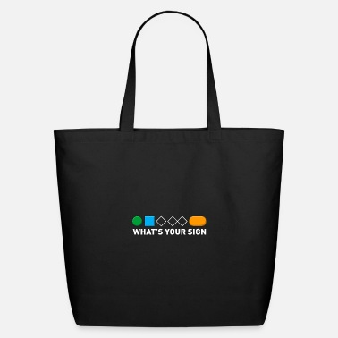 Powder Snow What's Your Sign For Snowboarding - Eco-Friendly Tote Bag