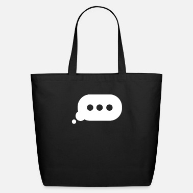 Typing Bubble - Eco-Friendly Tote Bag