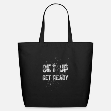 Getting Up GET UP - Eco-Friendly Tote Bag
