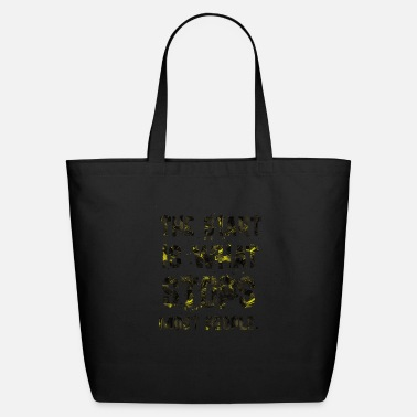Start THE START IS - Eco-Friendly Tote Bag