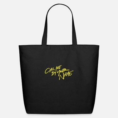 Name Call me by your name - Eco-Friendly Tote Bag