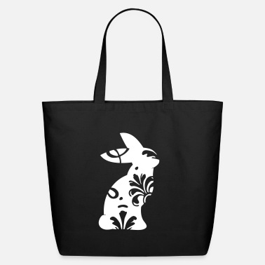 Bunny ornament - Eco-Friendly Tote Bag
