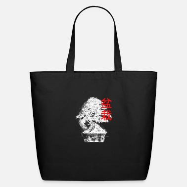 Funnel White Bonsai - Eco-Friendly Tote Bag