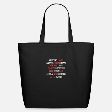 Different Teacher in Different Languages - Eco-Friendly Tote Bag