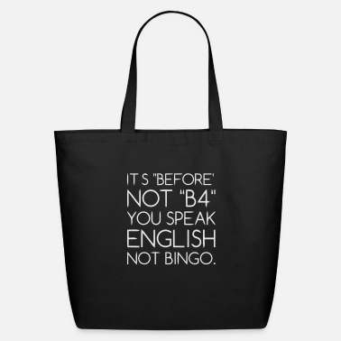 Language Language - Eco-Friendly Tote Bag