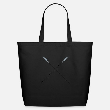 Katana Lance speere_2c - Eco-Friendly Tote Bag