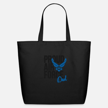 Air Force Dad Army Father - Eco-Friendly Tote Bag