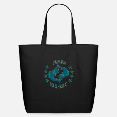PISCES ZODIAC - Eco-Friendly Tote Bag