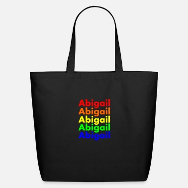 Abigail's Bright Rainbow - Eco-Friendly Tote Bag