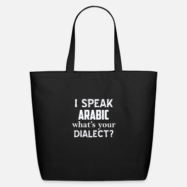 Dialect Arabic dialect - Eco-Friendly Tote Bag