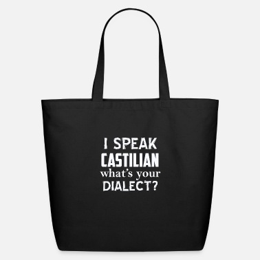 Dialect CASTILIAN dialect - Eco-Friendly Tote Bag