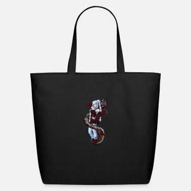 Manga Red Manga Dragon - Eco-Friendly Tote Bag