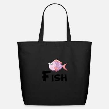 Cartoon Cartoon Fish - Eco-Friendly Tote Bag