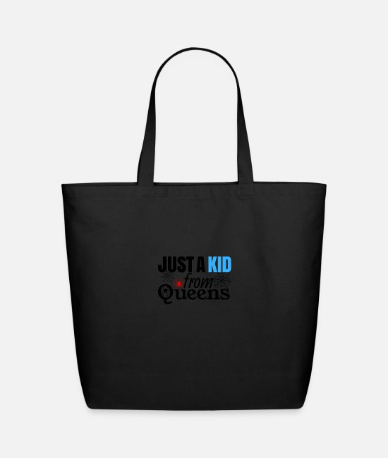 Queens Bags & Backpacks - Just a Kid - Eco-Friendly Tote Bag black