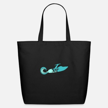 Ski Wake Surf - Eco-Friendly Tote Bag