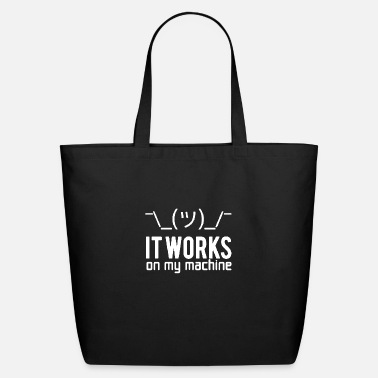 Encode Programmer Code Encoding Computer Gift - Eco-Friendly Tote Bag