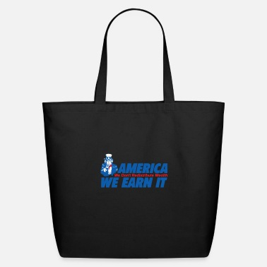 Wealth WEALTH EARN IT - Eco-Friendly Tote Bag