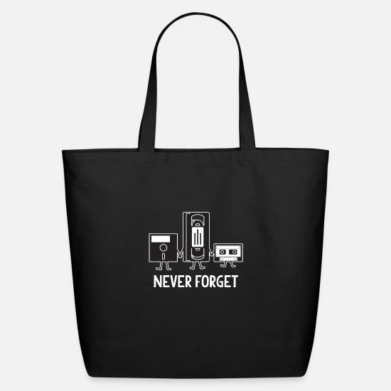 Never Forget Bags & Backpacks - NEVER FORGET - Eco-Friendly Tote Bag black