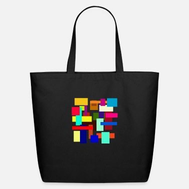 Rectangle Rectangles - Eco-Friendly Tote Bag