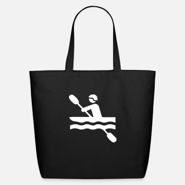 Water Sports kayak dudes 2 - Eco-Friendly Tote Bag