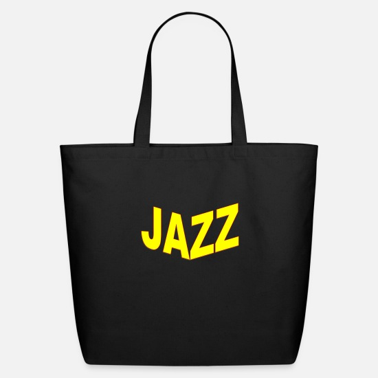 Electric Guitar Bags & Backpacks - jazz - Eco-Friendly Tote Bag black