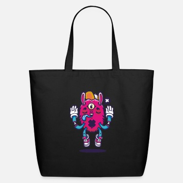 All seeing bunny - Eco-Friendly Tote Bag