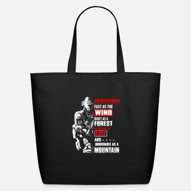 Sports Fast As The Wind Quiet Artilleryman - Eco-Friendly Tote Bag