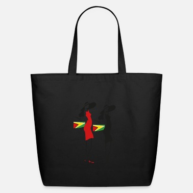 Guyana Guyana Fashion Girl - Eco-Friendly Tote Bag