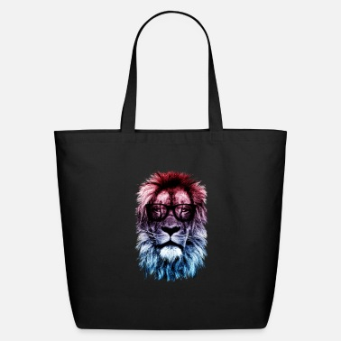 Hipster Hipster lion - Eco-Friendly Tote Bag