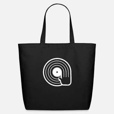 Record DJ T Shirt Vintage Retro T Shirt Vinyl Record - Eco-Friendly Tote Bag