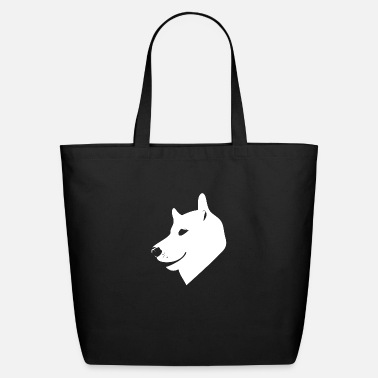 Dog Head Head dog - Eco-Friendly Tote Bag