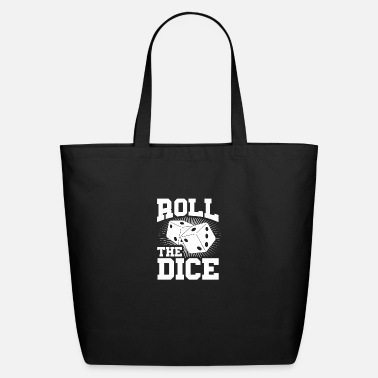 Roll-the-dice ROLL THE DICE - Eco-Friendly Tote Bag