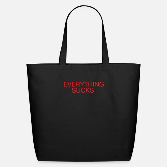 Movie Bags & Backpacks - Everything Sucks - Eco-Friendly Tote Bag black