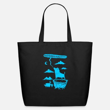 Growl awooolf growl - Eco-Friendly Tote Bag