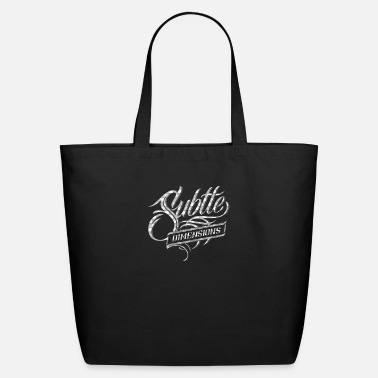 Subtle Subtle dimensions - Eco-Friendly Tote Bag