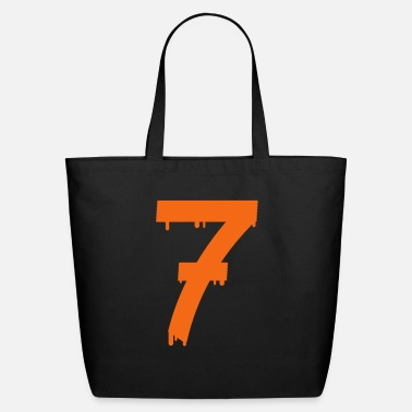 Number lucky number seven - Eco-Friendly Tote Bag
