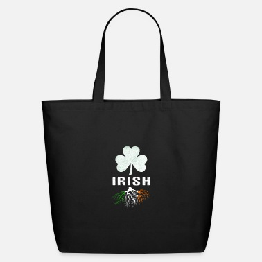 Irish Roots Irish Roots T Shirt - Eco-Friendly Cotton Tote
