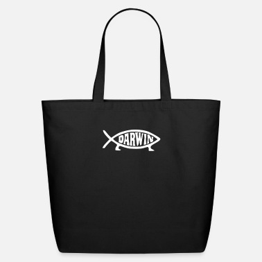 Darwin Darwin Fish - Eco-Friendly Tote Bag