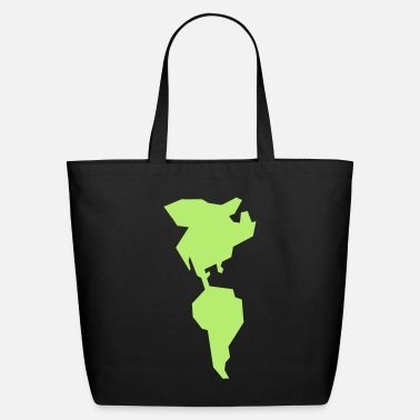 South America simple americas AMERICA CANADA MEXICO South AMERICA - Eco-Friendly Tote Bag