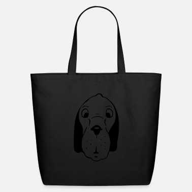 Dog Head dog head - Eco-Friendly Tote Bag