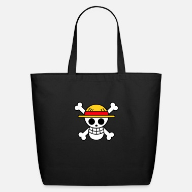 Piece One piece (straw hat pirates flag ) - Eco-Friendly Tote Bag