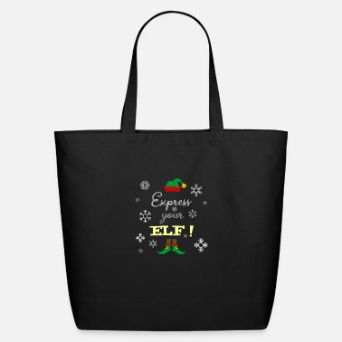 Expression Express your ELF! - Express yourself! - Eco-Friendly Tote Bag