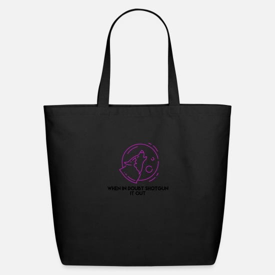 New Bags & Backpacks - radio - Eco-Friendly Tote Bag black