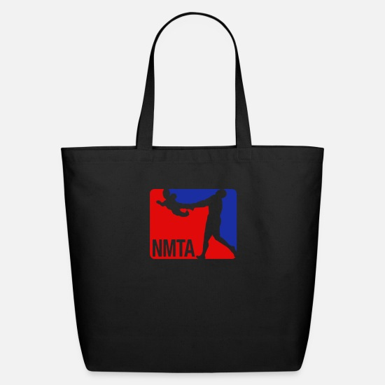 Funny Bags & Backpacks - National Midget Tossing Association Funny - Eco-Friendly Tote Bag black
