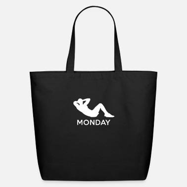 Monday MONDAY - Eco-Friendly Tote Bag