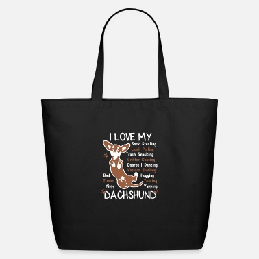 My Dachshund Love My Dachshund Shirts - Eco-Friendly Tote Bag